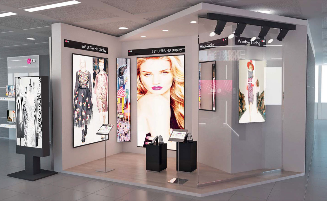 Lg Information display inaugura a Milano il nuovo showroom