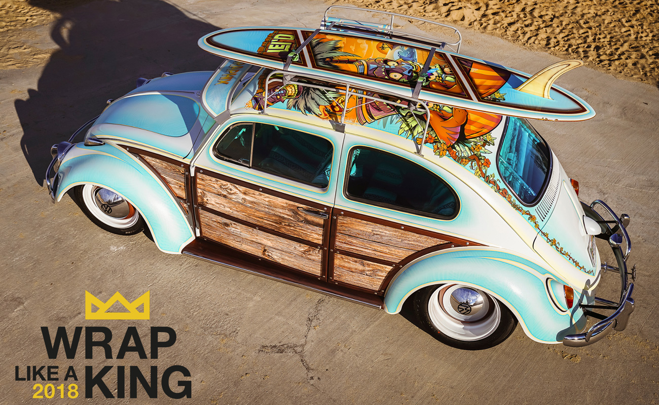 "La sfida di Avery Dennison: ""Wrap like a King"""