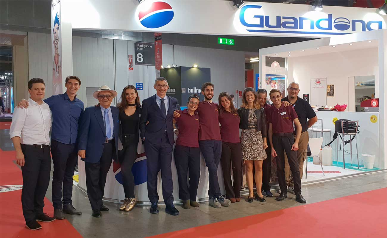 Guandong cambia passo
