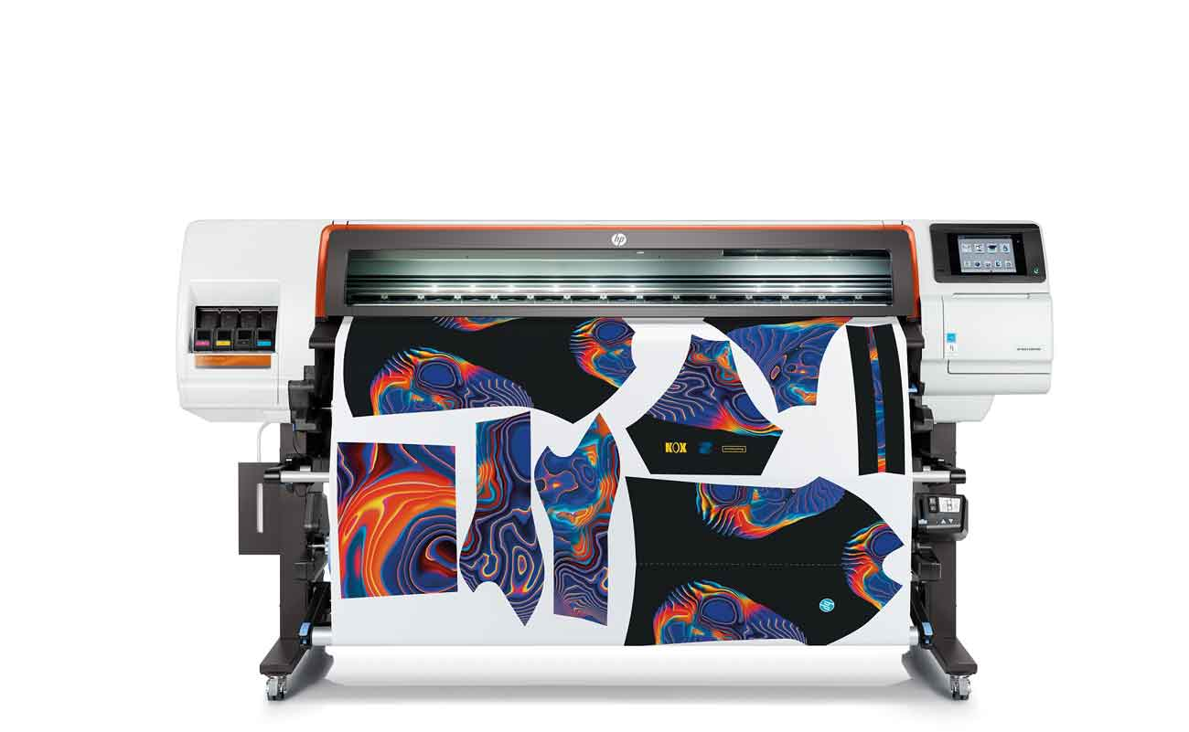 HP Reinvents Dye Sublimation Printing con il lancio del punto HP Stitch