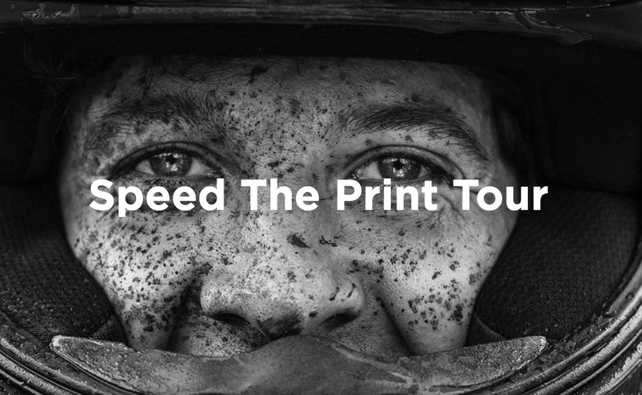 Speed the print tour