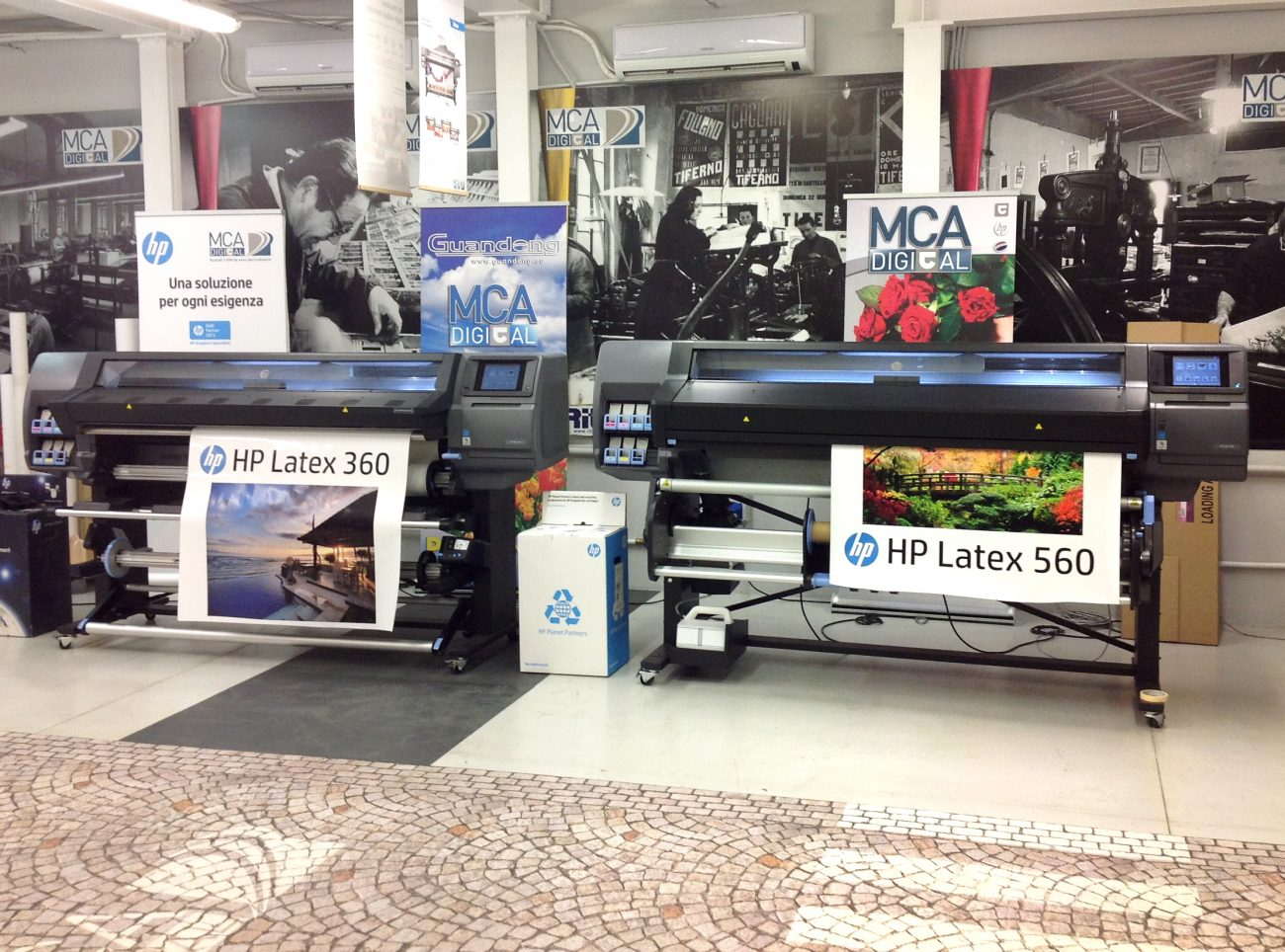 MCA DIGITAL SRL – Stand H01, Pad. 8