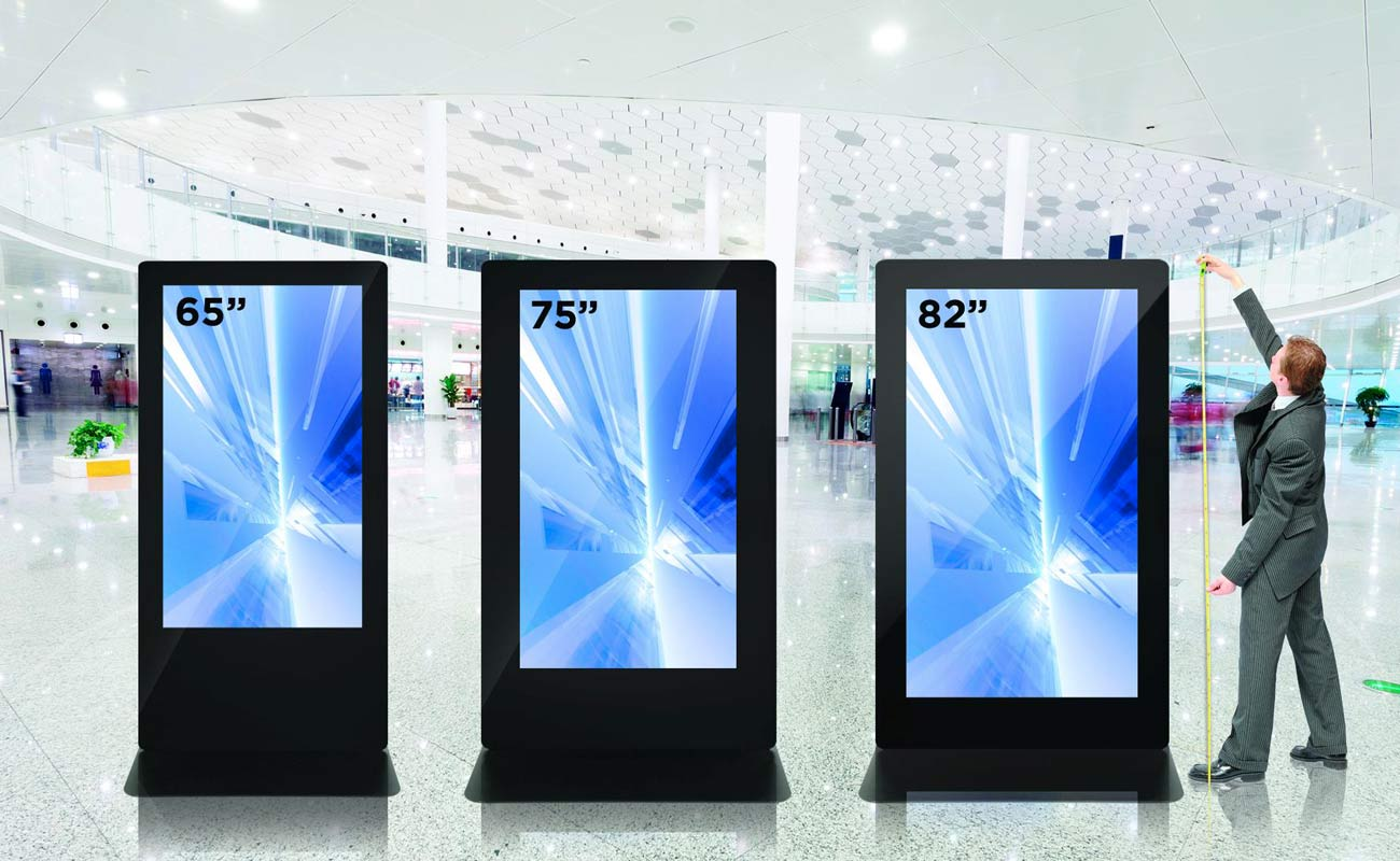 Digital signage in grande stile