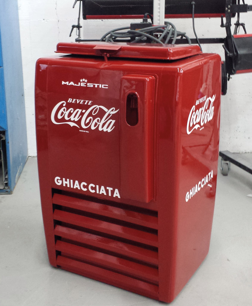 Frigo coca cola style different for Frigo coca cola grande